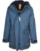 Elkline Outdoorjacke m. Fleece-Futter MÄDELS washed blue melange 3211007-239000