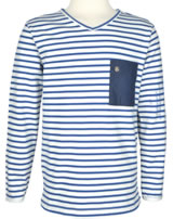 Marc O'Polo T-Shirt Langarm gestreift blau 1614541-0001