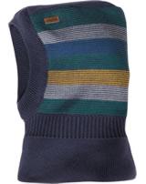 MaxiMo Balaclava hat striped navy 93578-211400-48