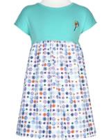 MaxiMo Kleid ohne Arm Mini BLUME blau-lila 09000-128676-3870