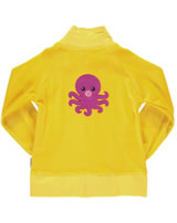 Maxomorra Sweat-Jacke Nicki OCTOPUS gelb AU6B-M247-D1078 GOTS