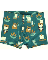 Maxomorra Boxer Shorts LAKE LIFE blue M466-D3266 GOTS