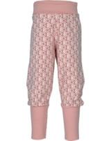 Maxomorra Bund-Hose FISCHE rosa M340-D3241 GOTS