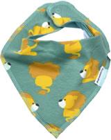 Maxomorra Foulard LION vert/jaune M348-D3230 GOTS