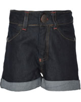 Maxomorra Jeans-Shorts Pants denim dark blue washed M366-D3261 organic