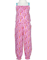 Maxomorra Jumpsuit LOLLIPOP rosa/türkis P8SP-S356-D3092