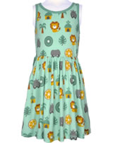 Maxomorra Kleid Träger DSCHUNGEL grün/gelb M376-D3231 GOTS