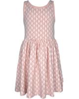 Maxomorra Kleid Träger FISCHE rosa M376-D3241 GOTS