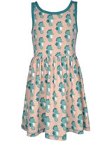 Maxomorra Dress Spin SEAHORSE blue/pink M376-D3235 GOTS
