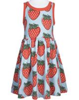Maxomorra Kleid Träger STRAWBERRY rot GOTS M541-C3378