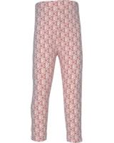 Maxomorra Leggings Cropped FISH pink M384-D3241 GOTS