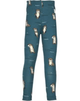 Maxomorra Leggings OTTER blue M474-D3281 GOTS