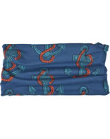 Maxomorra Loop Scarf Tube ANCHOR blue/red M347-D32484 GOTS