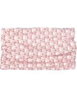 Maxomorra Loop Scarf Tube FISH pink M392-D3241 GOTS