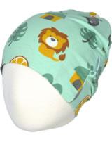 Maxomorra Mütze Beanie DSCHUNGEL grün/gelb M388-D3231 GOTS