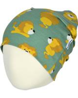 Maxomorra Hat Regular LION vert/jaune M388-D3230 GOTS