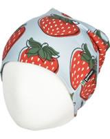 Maxomorra Hat Beanie STRAWBERRY red GOTS M544-C3378