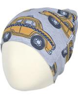 Maxomorra Mütze Beanie TAXI grau M388-D3226 GOTS
