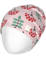 Maxomorra Hat Velour RUBY ROWANBERRY pink M483-D3268 GOTS