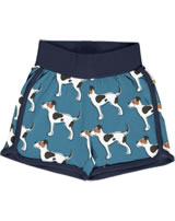 Maxomorra Runner Shorts FARMDOG blau GOTS M530-C3377