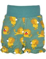 Maxomorra Pantalon LION vert/jaune M374-D3230 GOTS