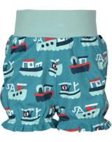 Maxomorra Shorts mit Bund SCHLEPPER blau/rot M374-D3233 GOTS