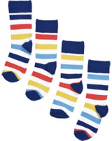 Maxomorra Socken 2er Pack STRIPE MILK bunt M511-D3353