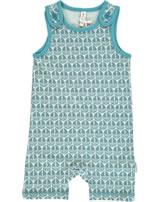 Maxomorra Strampler Spieler SEGELBOOT blau M377-D3239 GOTS