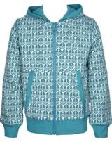 Maxomorra Sweat-Jacke Hoodie SEGELBOOT blau M339-D3239 GOTS