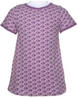 Maxomorra T-shirt A-line TOUCAN pourpre M352-D3238 GOTS