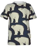 Maxomorra T-Shirt Kurzarm EISBÄR blau M468-D3297 GOTS