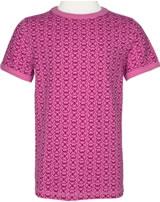 Maxomorra T-Shirt Kurzarm MARIENKÄFER rose pink M336-D3221 GOTS