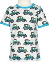 Maxomorra T-Shirt Kurzarm OLDTIMER creme/blau P8SP-S336-D3093