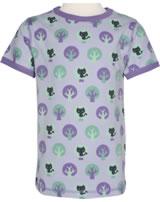 Maxomorra T-Shirt Kurzarm PARK lila/dunkellila M336-D3212 GOTS