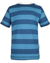 Maxomorra T-Shirt Kurzarm Streifen stripe/midnight GOTS M522-C3368