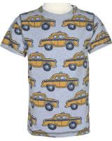 Maxomorra T-Shirt Kurzarm TAXI grau M336-D3226 GOTS