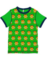 Maxomorra T-Shirt Kurzarm TIGER grün/orange SP17-M320-D093 GOTS