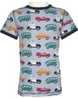 Maxomorra T-Shirt Kurzarm VERKEHR grau/anthrazit M336-D3210 GOTS