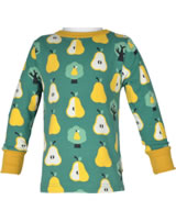 Maxomorra T-Shirt Langarm BIRNE grün M467-D3271 GOTS