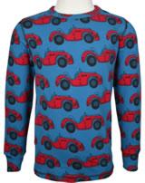 Maxomorra T-Shirt Langarm CABRIOLET blau E8AU-S335-D3175