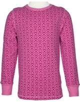 Maxomorra T-Shirt Langarm MARIENKÄFER rose pink M335-D3221 GOTS