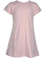 Maxomorra T-Shirt/Tunika Kurzarm FISCHE rosa M354-D3241 GOTS