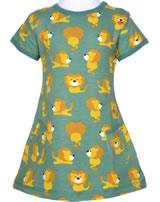 Maxomorra T-Shirt/Tunika Kurzarm LÖWE blau/gelb M354-D3230 GOTS