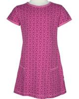 Maxomorra T-Shirt/Tunika Kurzarm MARIENKÄFER rose pink M354-D3221 GOTS