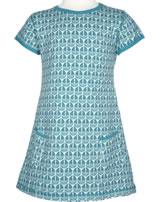 Maxomorra T-Shirt/Tunika Kurzarm SEGELBOOT blau M354-D3239 GOTS