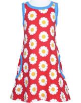 Maxomorra Träger-Kleid DAISY rot GOTS M540-C3345