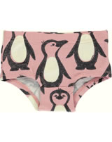 Maxomorra Unterhose Slip PINGUIN FAMILIE rosa M487-D3298 GOTS