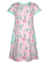 Meyadey Dress shortsleeve CHERRY KISS pink GOTS D3390-M355