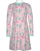 Meyadey Dress longsleeve CHERRY KISS pink GOTS D3390-M436