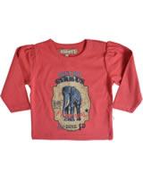 Minymo T-Shirt Langarm Ida 05 garnet rose 126-71-0805-70778